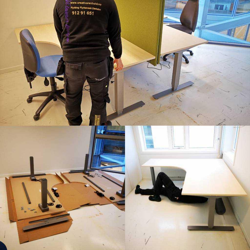 Møbelmontering-Creative Renhold.Vi tilbyr møbelmontering for privat og bedrift.Vi tilbyr levering av den nye møbler og bortkjøring av den gamle.Ingen oppdrag er for stor eller for liten for oss